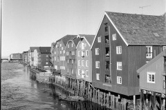 Brygge with boat.