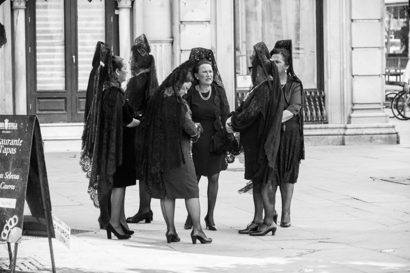 Processions in Andalucia Spain